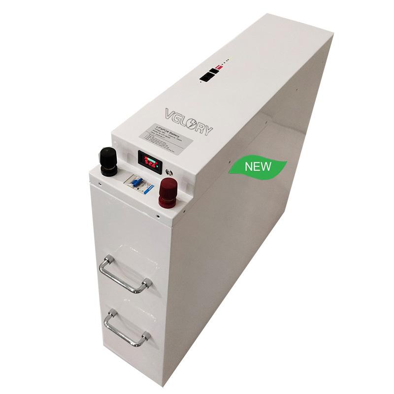 Accept Custom capacity lithium ion phosphate 24v 100ah battery pack