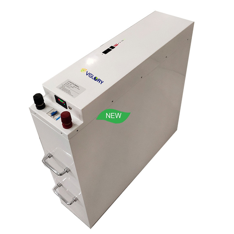 Powerful rechargeable deep cycle 24v 100ah energy storage battery pack