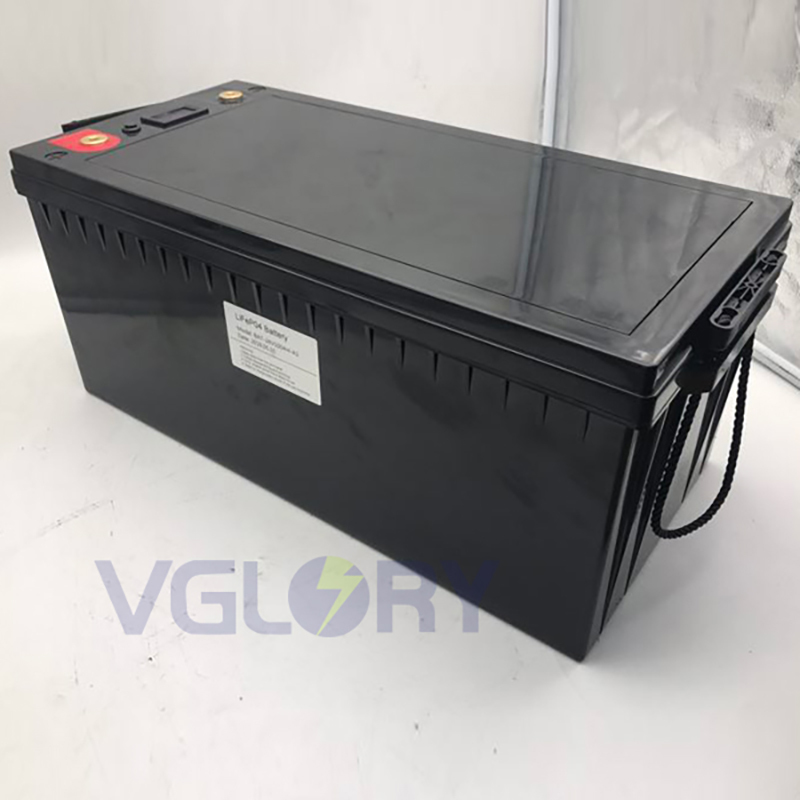 Excellent temperature performance solar panel lithium battery 24v 180ah