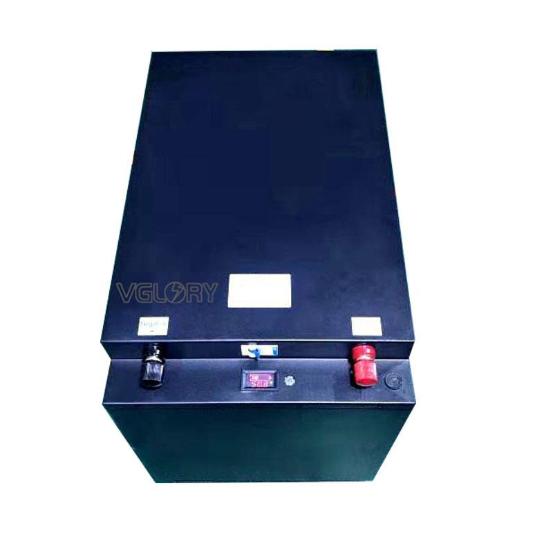 Environmental rechargeable 24v 100ah solar storage battery