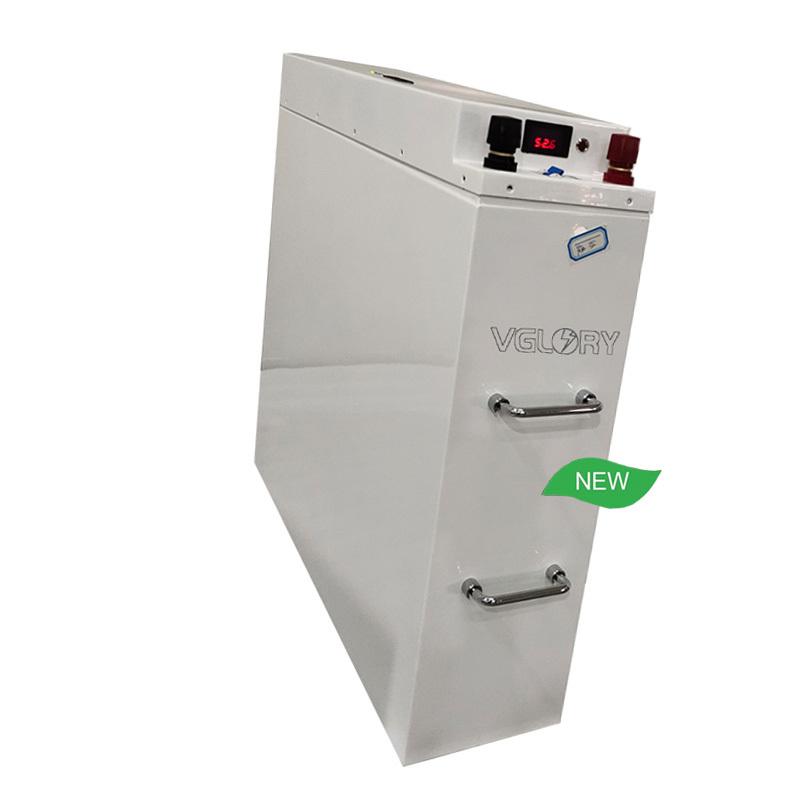 High density rechargeable 24v 100ah solar generator lithium battery