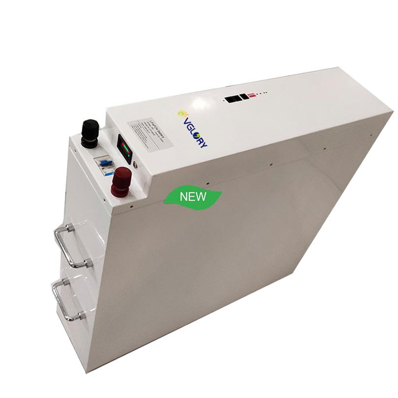 High density rechargeable 24v 100ah solar storage li ion battery