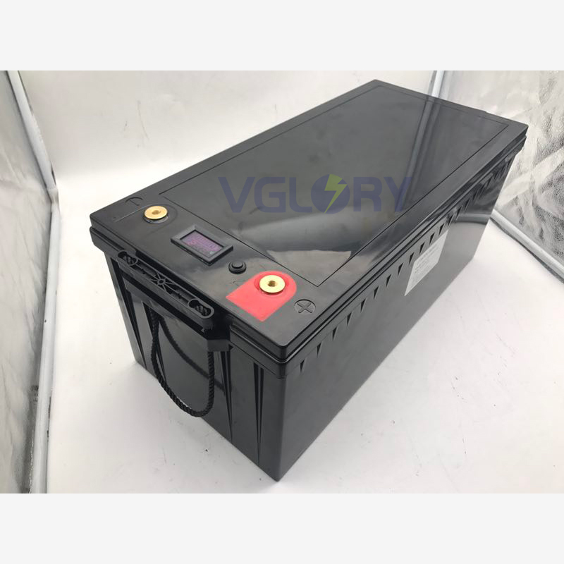 Free maintenance rechargeable 24v 100ah solar battery storage lithium