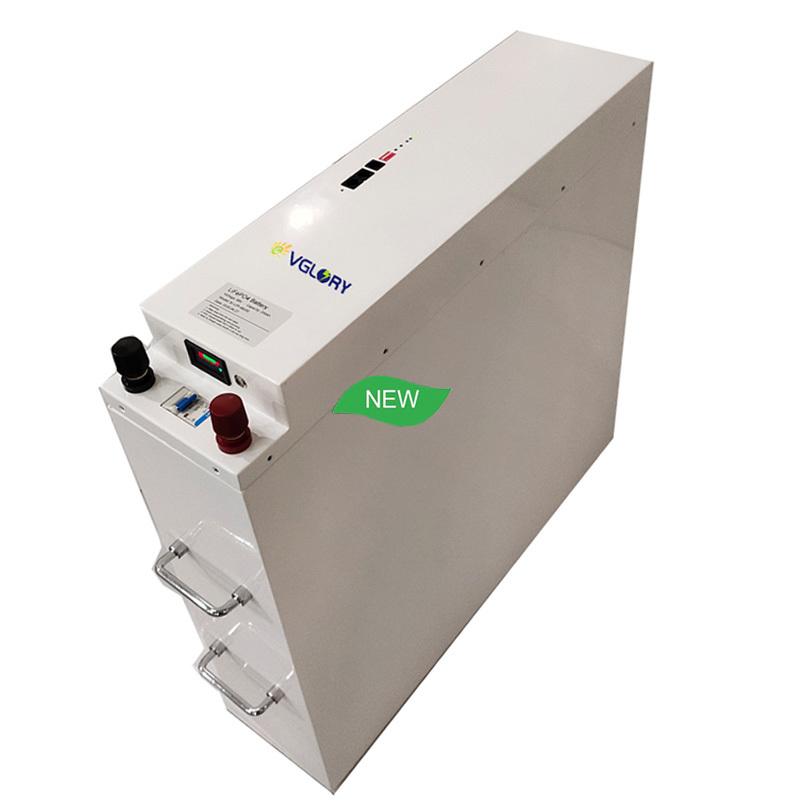 Compact size high density 24v 100ah solar power storage battery 220v