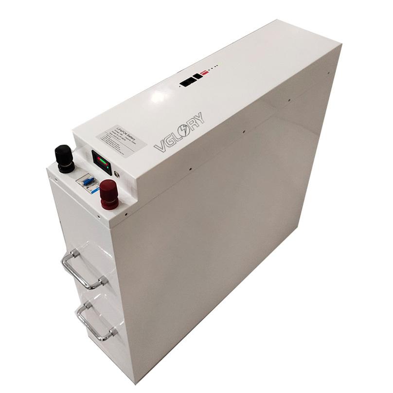 Free maintenance deep cycle 24v 100ah solar battery storage lithium
