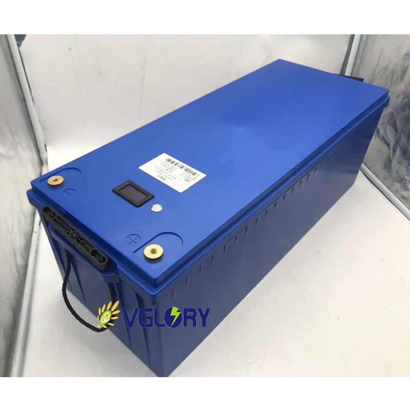 Compact size high density super lightweight 24v 100ah lithium battery solar storage