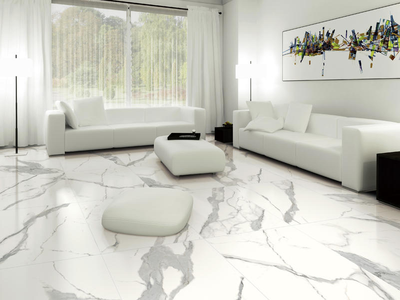 Spanish Porcelain Manufacturers White Floor Tile