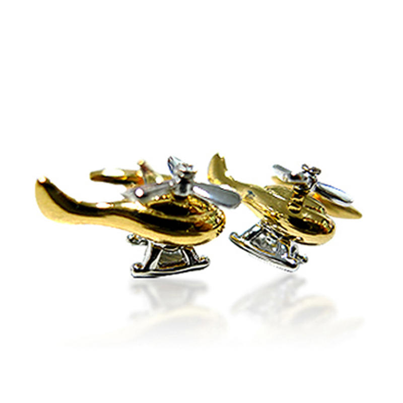 Latest gold tie pin and cufflink set manufacturers for women