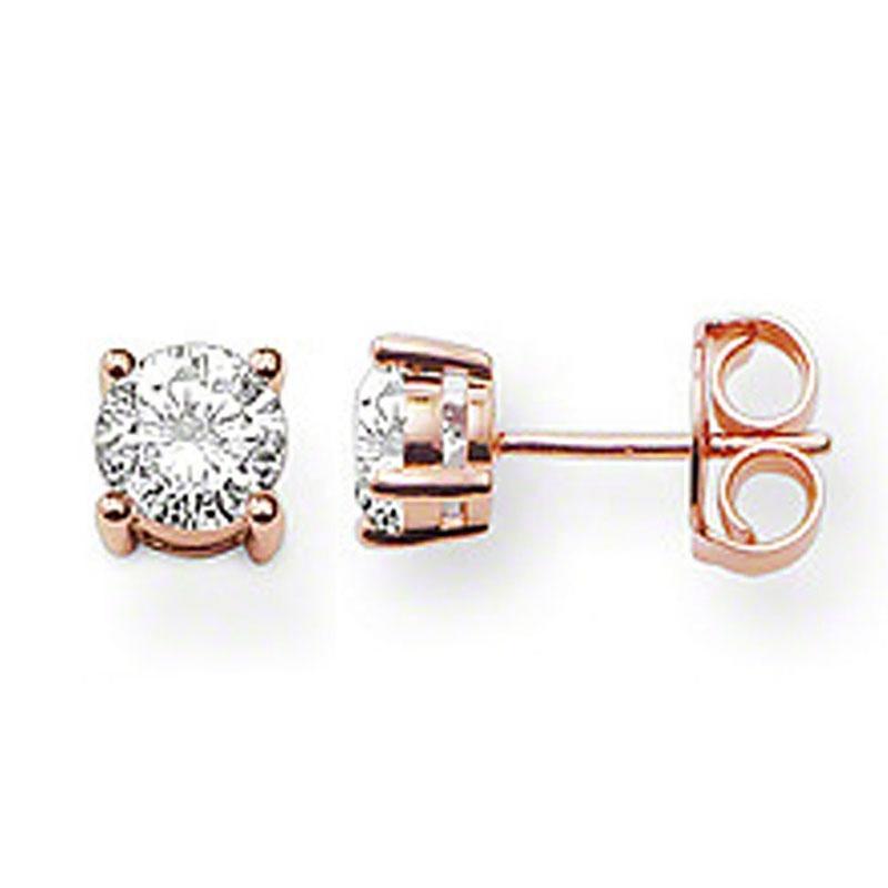 Gemstone Silver Shiny Newest Design 4 Gram Gold Earrings