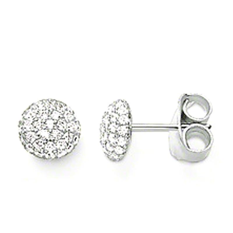 Dreamy beauty ball jewelry beaded indian jhumka earring