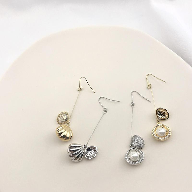 New Pearl Earrings Female, Long Tassel Earrings Jewelry, Fashionable Personality Design Earrings