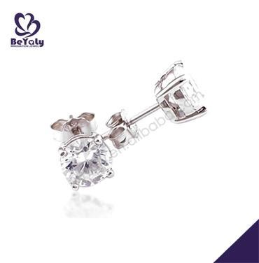 Beauty shiny jewelry women long diamond earrings