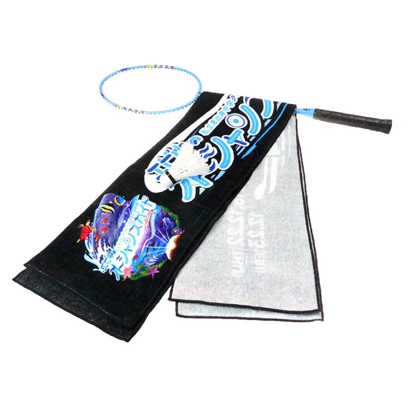 Hot design cotton wholesale custom digital printed sport towel