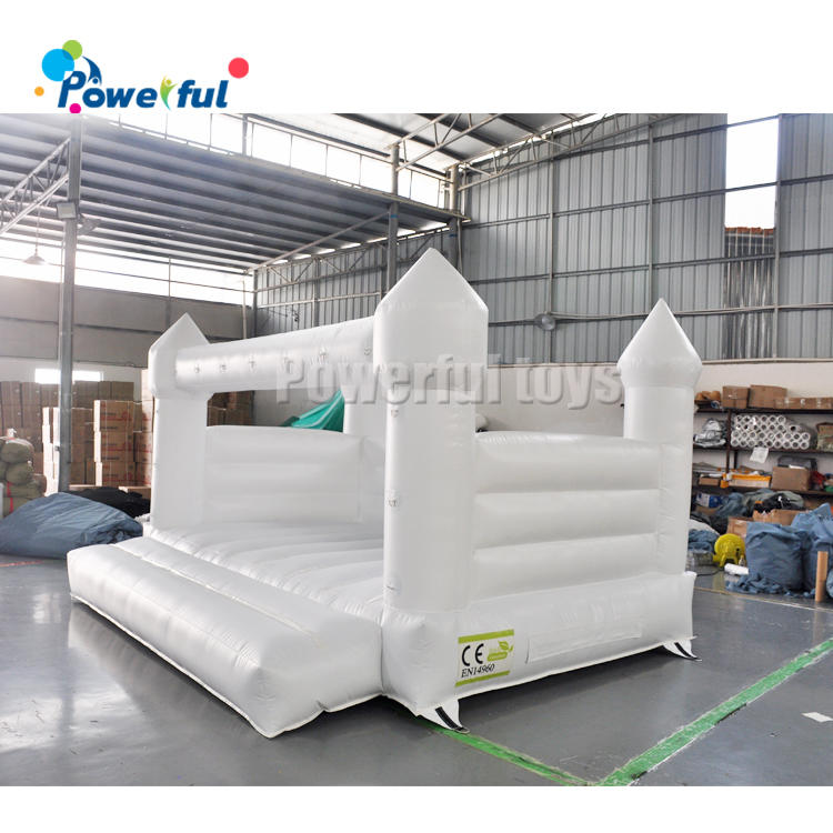 Wedding Wonderland bouncy castle inflatable carousel building house and tent shelter for sale