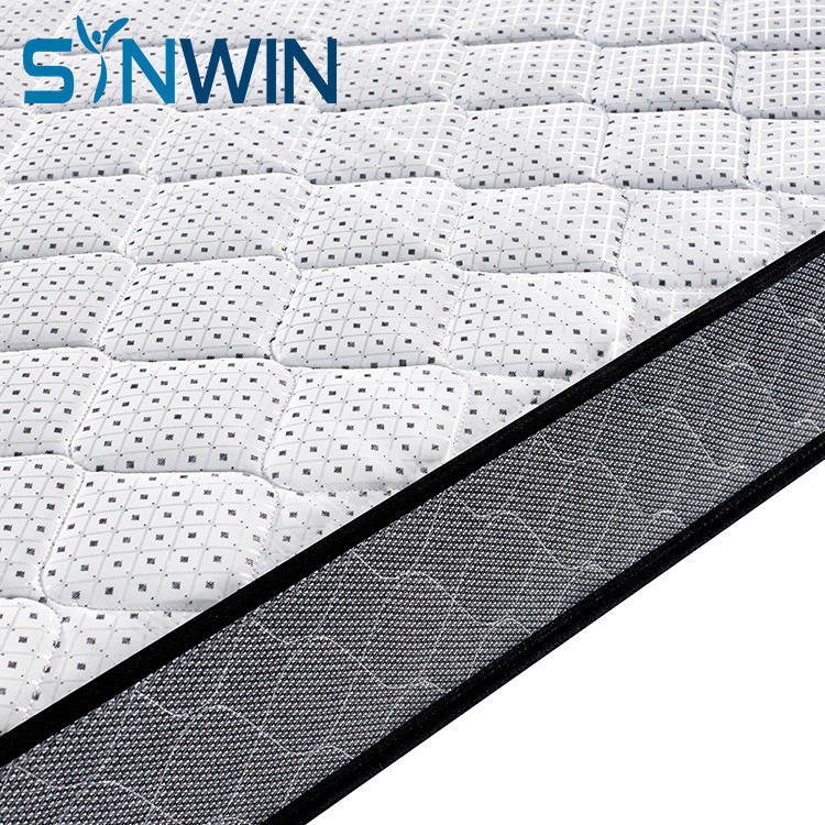 rolled wholesale mattress bonell spring mattress single bed dormitory cheap mattress