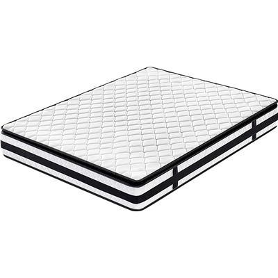 Pillow top foam bonell spring mattress 3 star hotel mattress rolled foam spring mattress