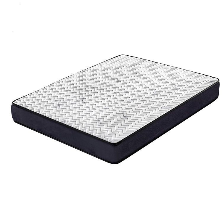Custom wholesale price tight top sleep wellbonnell spring mattress
