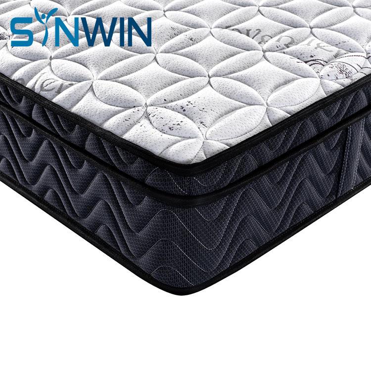 26cm euro top spring well mattress american standard mattress wholesale mattress manufacturer from china