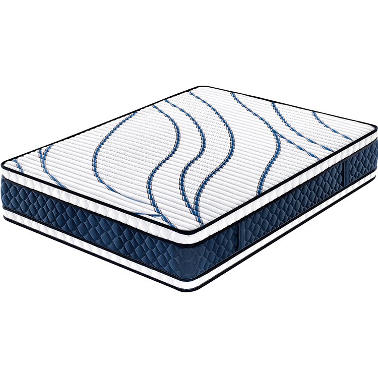 34cm double sides used memory foam latex mattresses euro top bonell spring mattress