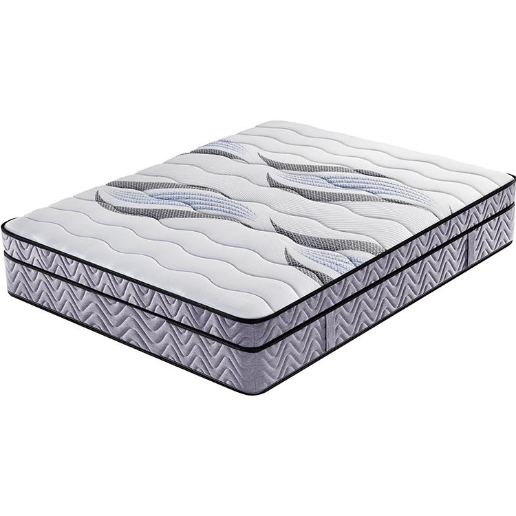 31cm euro top bonnell spring coir mattress medium firm luxury hotel mattress
