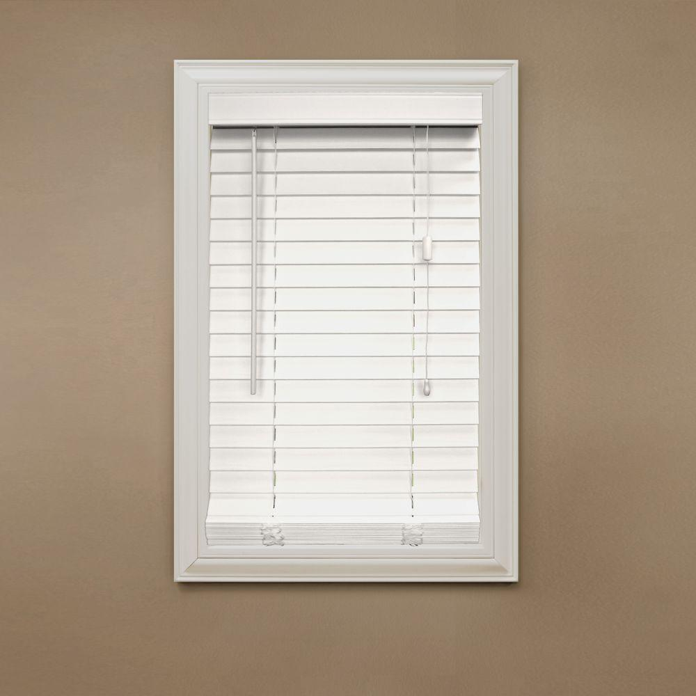 Popular Natural Faux Wood Blinds for Windows Classic Style
