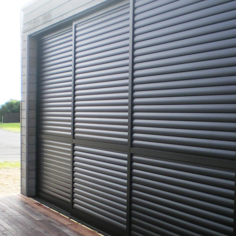 House Exterior Aluminum Folding louver sliding door lowes