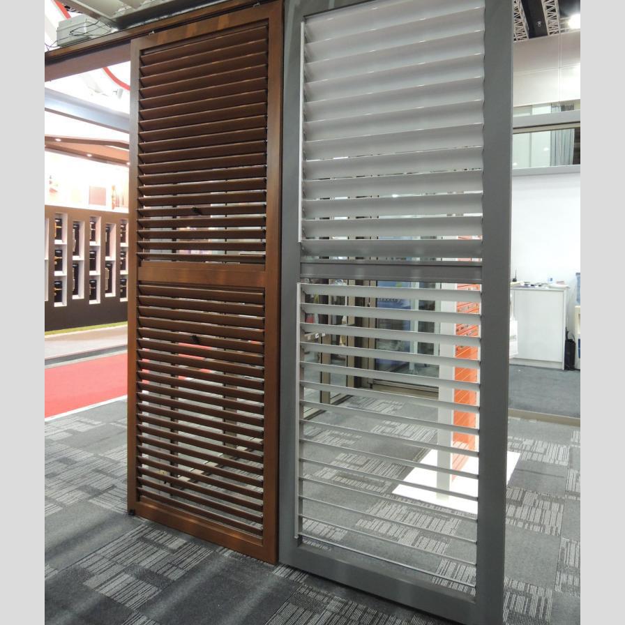 Custom Color Aluminium Profile for Louver folding door /Cabinet Door