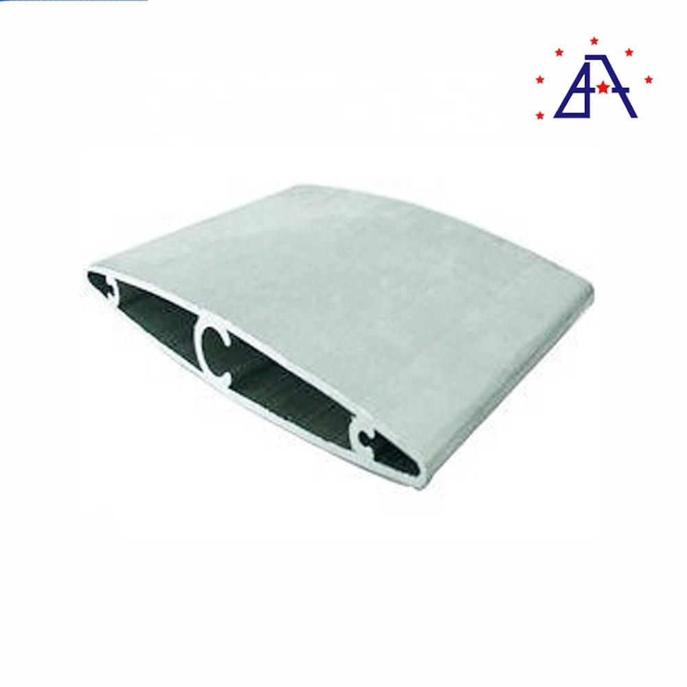 OEM Custom Large Section Aluminum Alloy Louver Profile