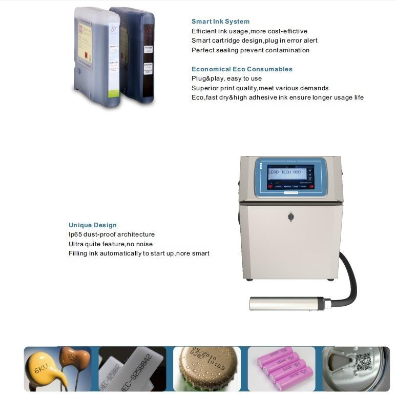 LEAD TECH New industrial coding machine Supply for pipe printing-3