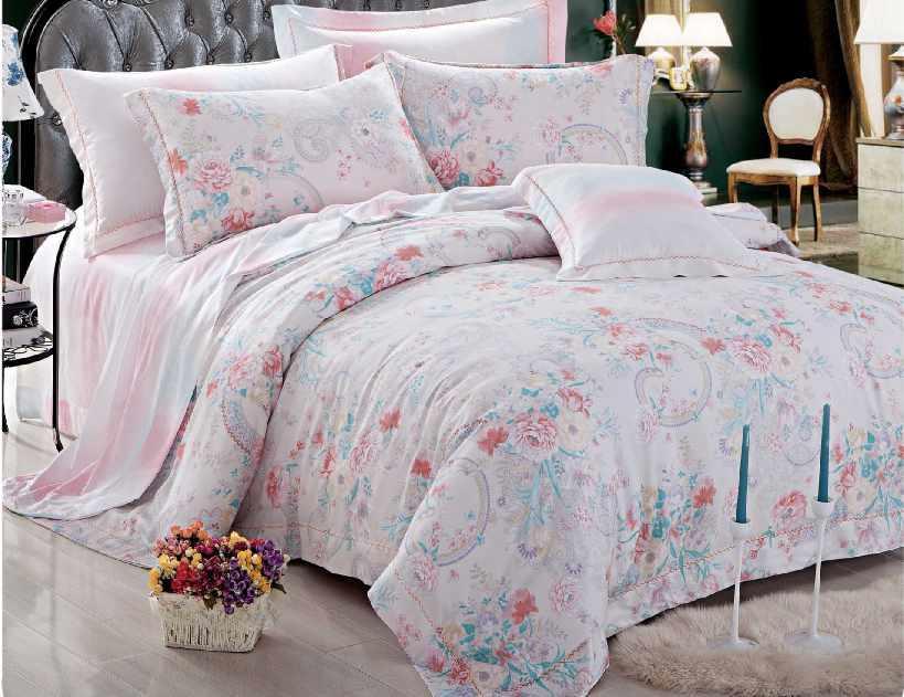 Daphne Brand designs print linen Bamboo Bedding Sets