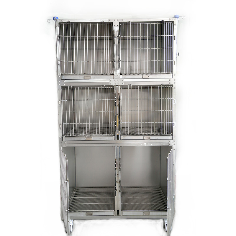 Stainless Steel dog treatment cagedog pet breeding cage