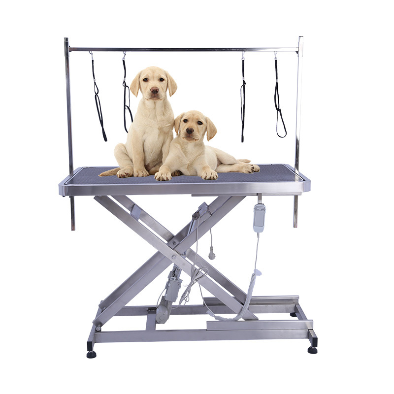 Height Adjustable Pet Dog Electric Grooming Table