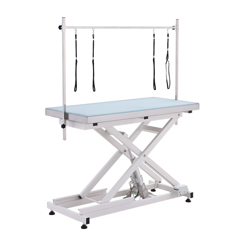 used dog grooming table foot control electric lift pet grooming table