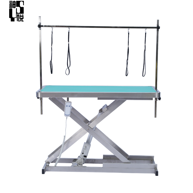 practical veterinary folding pet grooming table