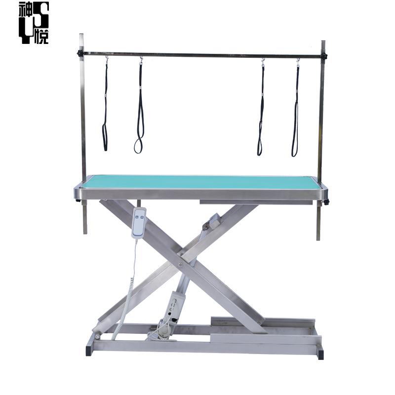 practical veterinary folding pet grooming table