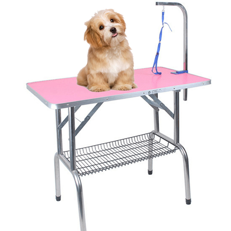 Foldable Convenient Multidimensional and Color Pet Grooming Table