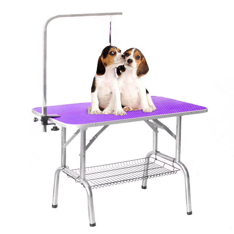 Multi Colors Factory Price Pet Care Foldable Dog Grooming Table