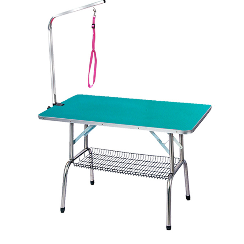 Muticolorful Collapsible and Convenient Square Table for Dog Grooming