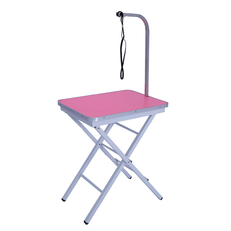 Pet Grooming Table Folding Professional Portable Trimming Drying Table With Arm