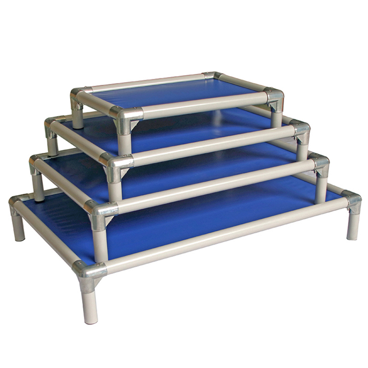 Factory Supplier PVC Material Waterproof Strong and Sturdy Elevated Dog Bed