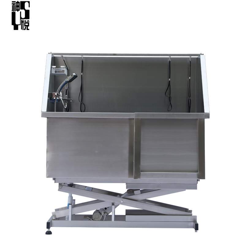 pet grooming electric lifting superior stainless steel grooming bath tub CH-905
