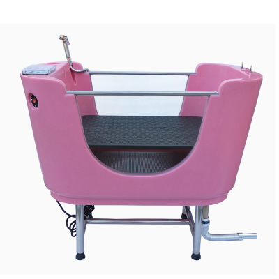 High quality plastic bathtub pet grooming shower tub dog SPA machine