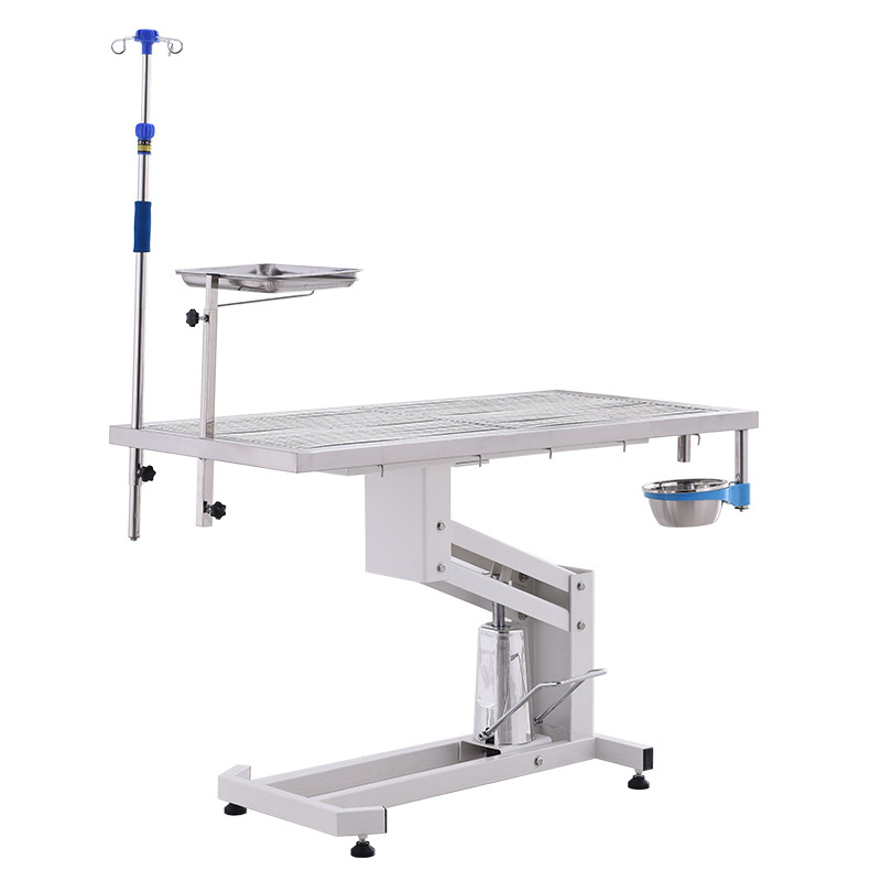 Pet Operation Theater Hydraulic Table Veterinary Surgical Instruments Used In Operation