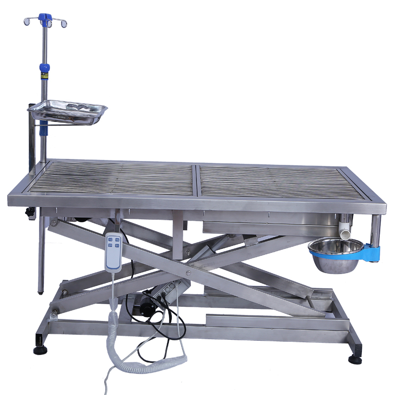 Veterinary High Quality Stainless Steel Electric Lifting Pet Dog Operating Table