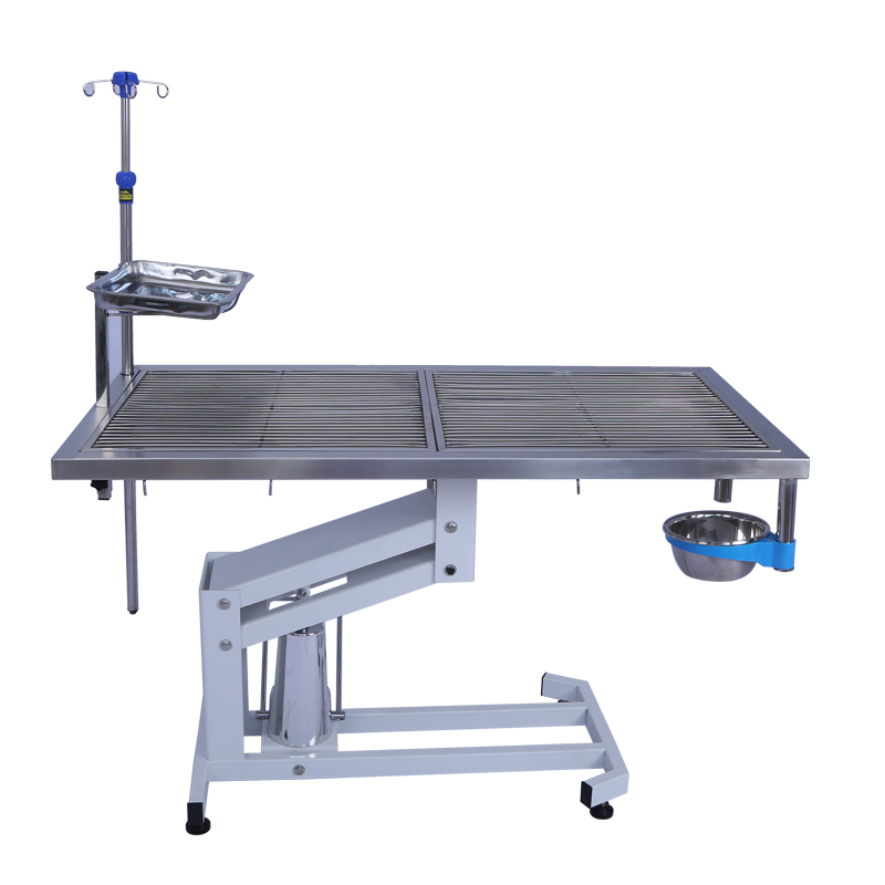 Stainless Steel Material Electric Lifting Pet Dog Operating Clinic Treating Table