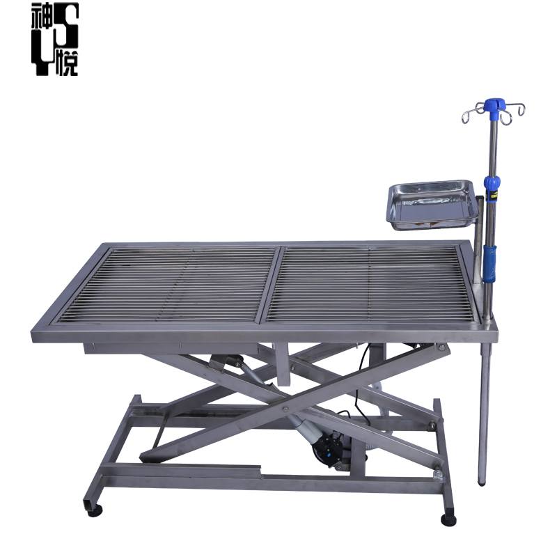 Electric Lifting Foldable Dog Operating Table Vet Surgical Table