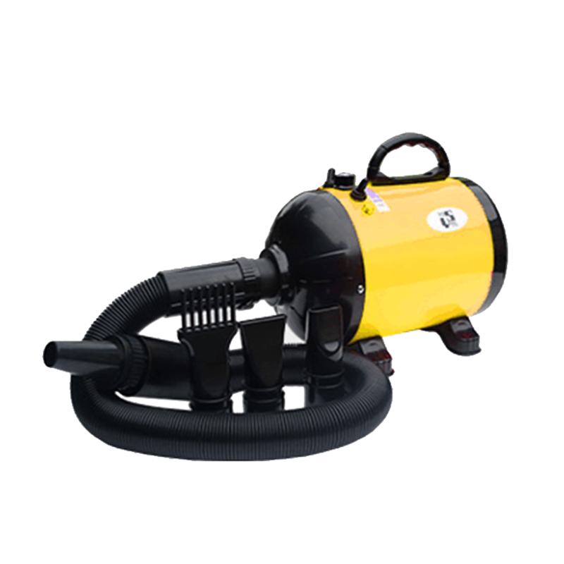 Yellow pet water bottle blower automatic pet dog dryer
