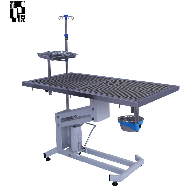 Stainless steel Vet dog veterinary dental table