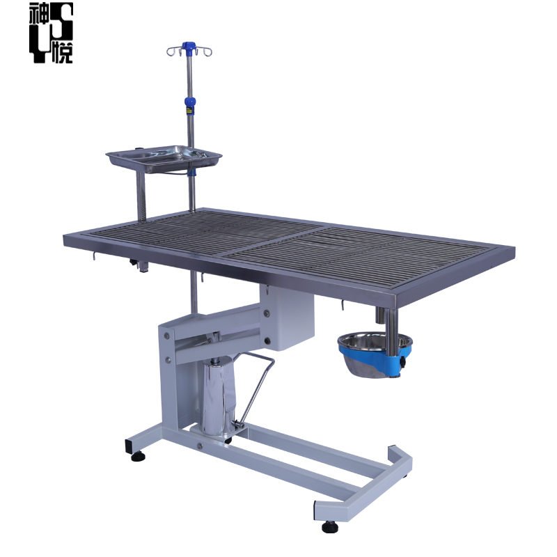 Stainless steel Vet dog veterinary dental table