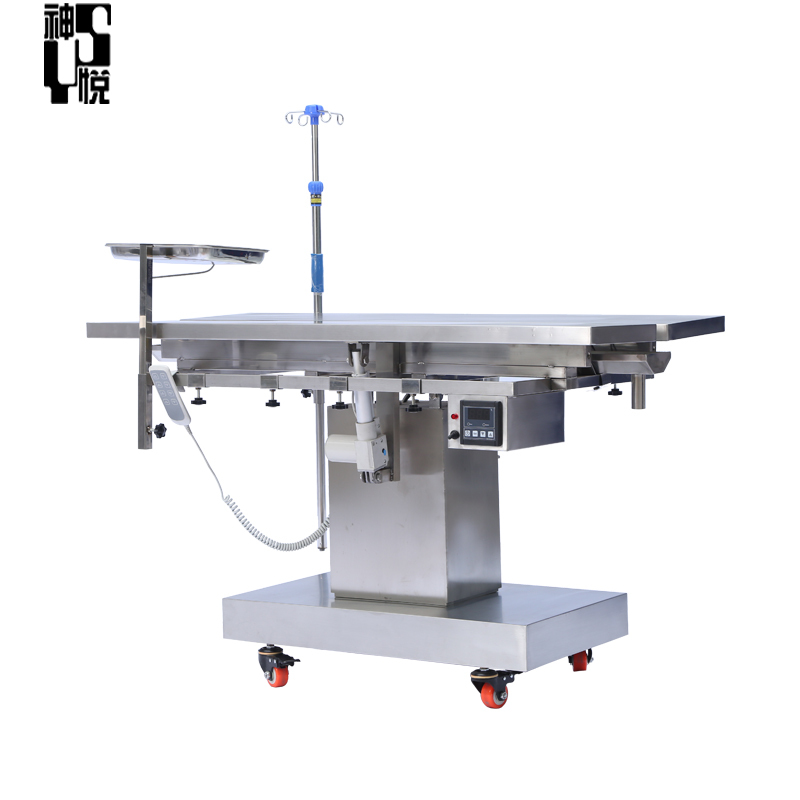 High quality veterinary equipment clinic pets stainless steel vet operating table